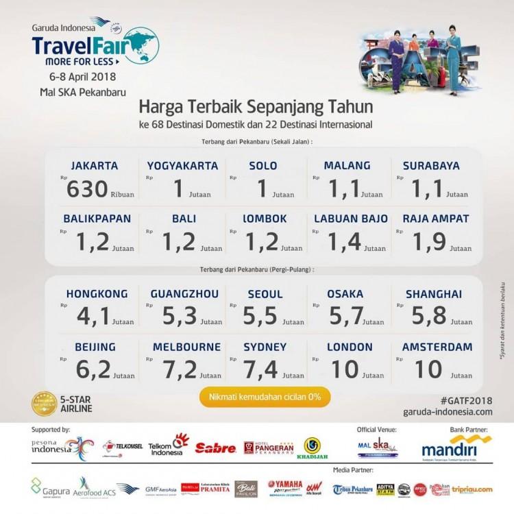 Garuda Indonesia Travel Fair Brosispku Cerita Info