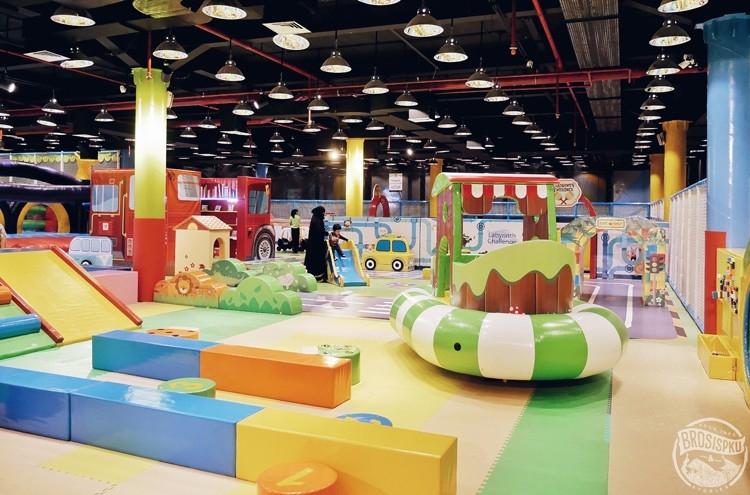 Fun Fit Trampoline Park Dan Kidzilla Mall Ska Brosispku